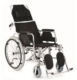 Silla de ruedas reclinable aluminio